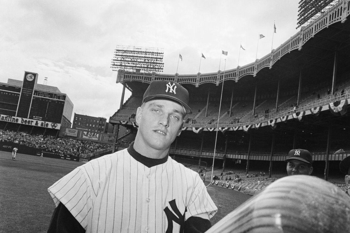 Roger Maris and His Bat, 1961