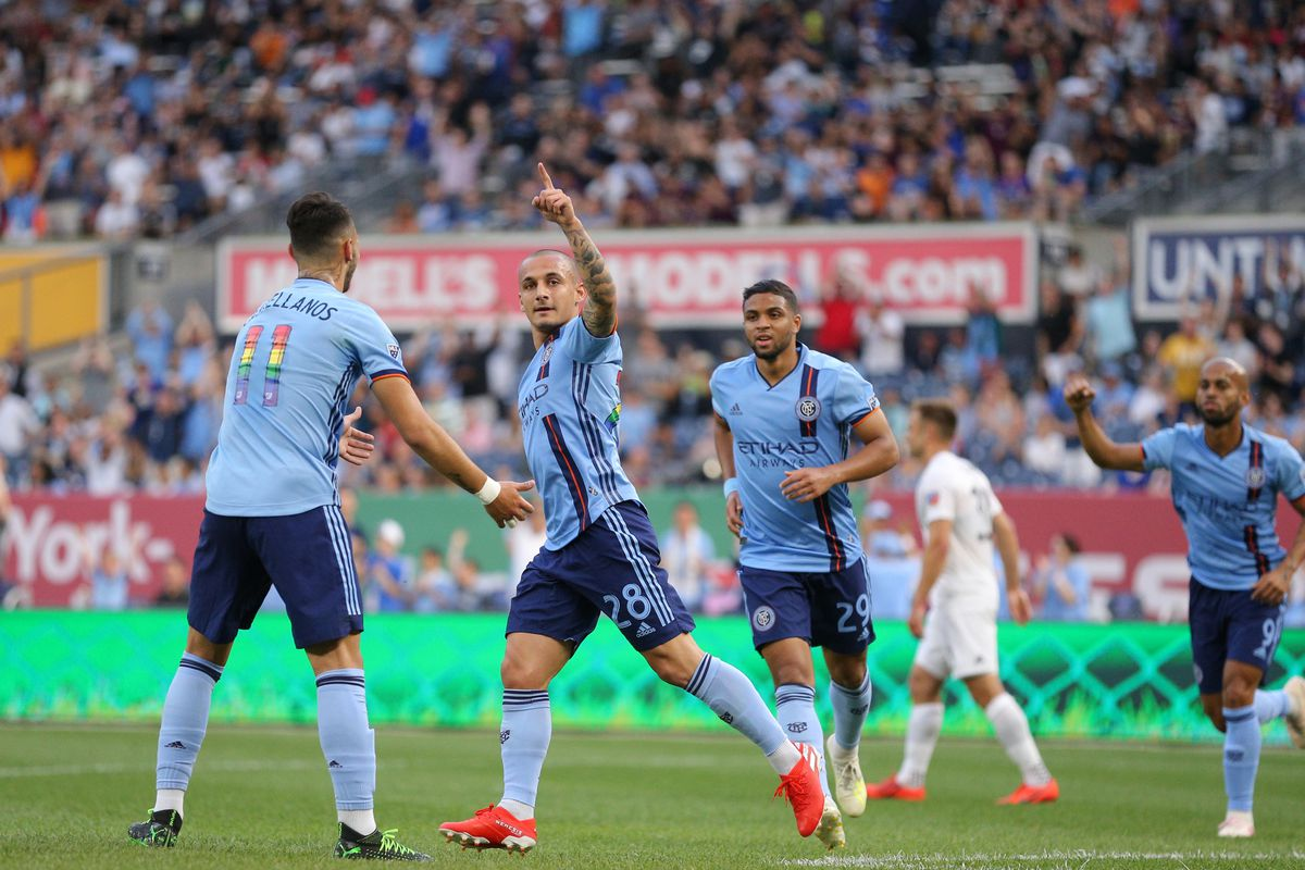 New York City FC rule out Ismael Tajouri-Shradi and Alexandru Mitrita against Red Bulls