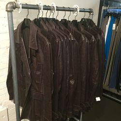 Men's leather jackets, $279 (were $1,250)
