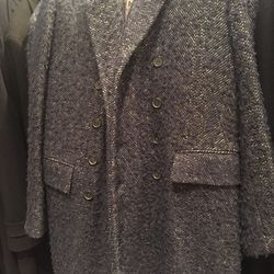 Collection outerwear, size 48 RG, $349 (from $1,398)