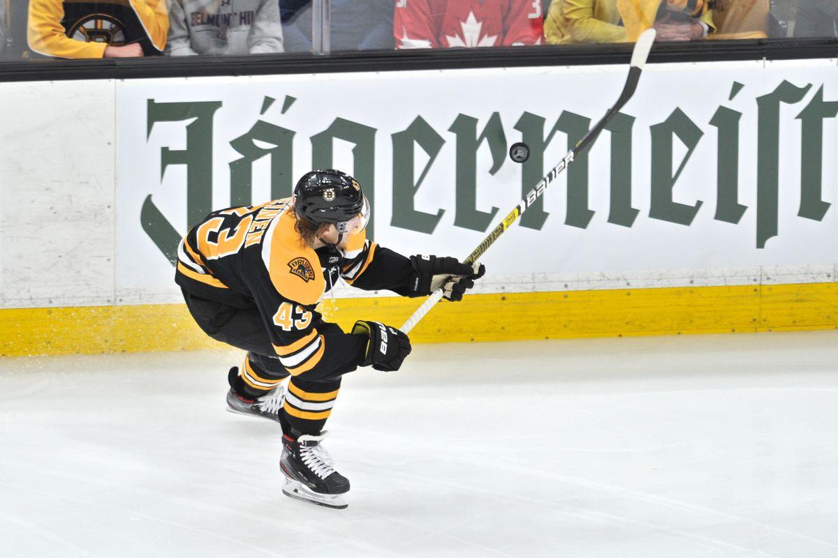 reputable site 5d5dc 53365 Bruins avoid arbitration, re-sign Danton Heinen - Stanley ...