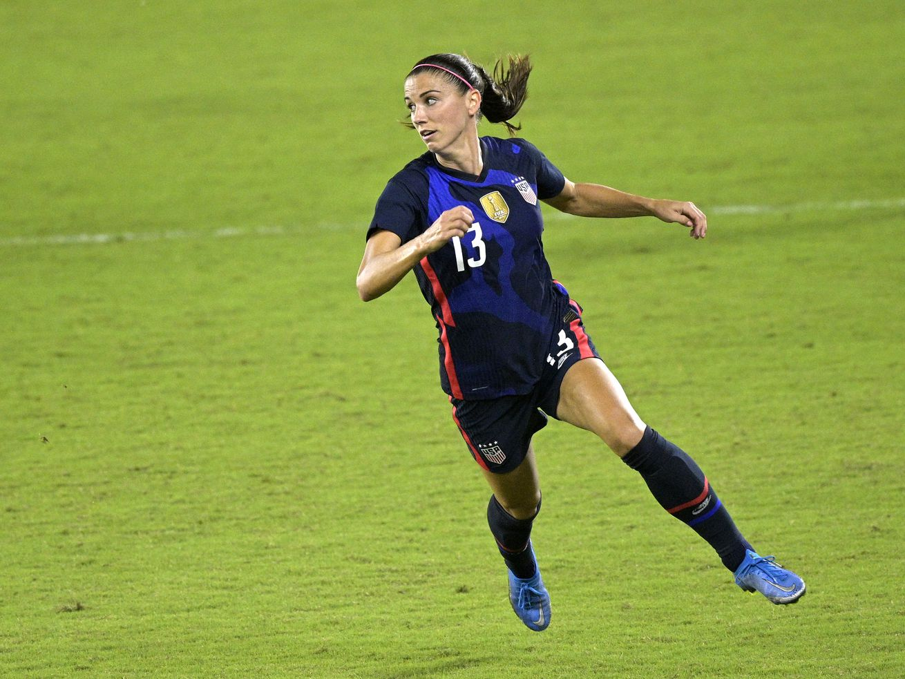 Alex Morgan and other U.S. national soccer team players have asked a federal appeals court to overturn a lower court decision throwing out their lawsuit seeking equal pay to the men's team.