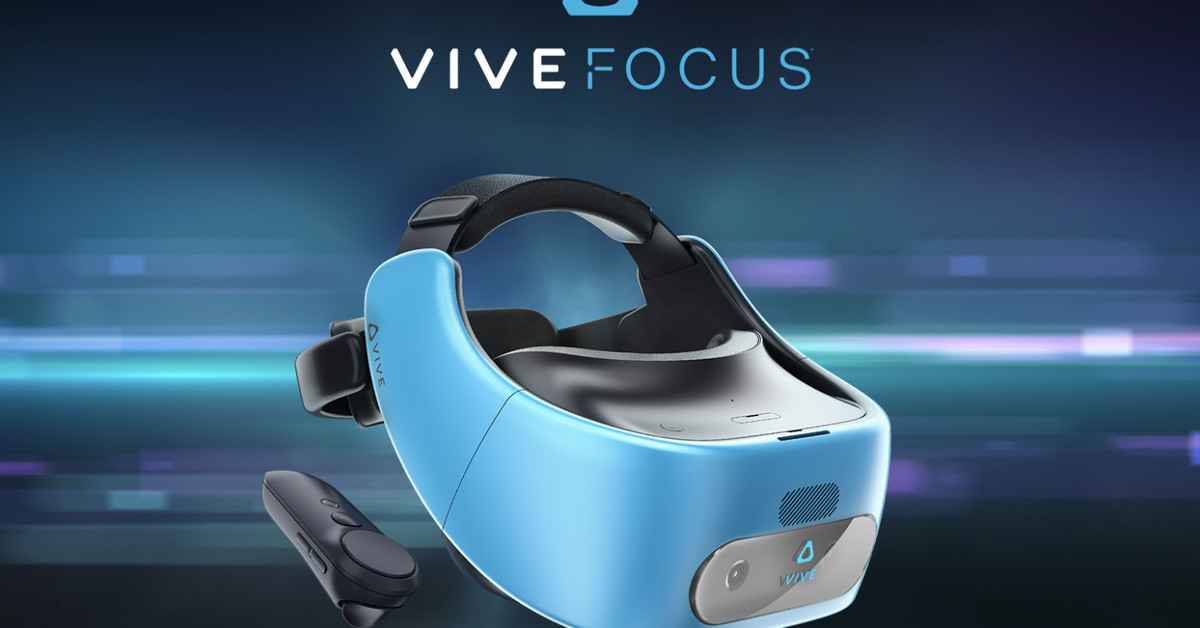 photo image HTC's China-exclusive Vive Focus VR headset is now launching worldwide