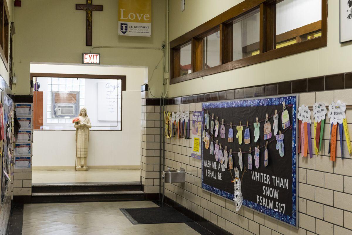 St. Genevieve Catholic School, 4854 W. Montana St., Thursday, Jan. 30, 2020.