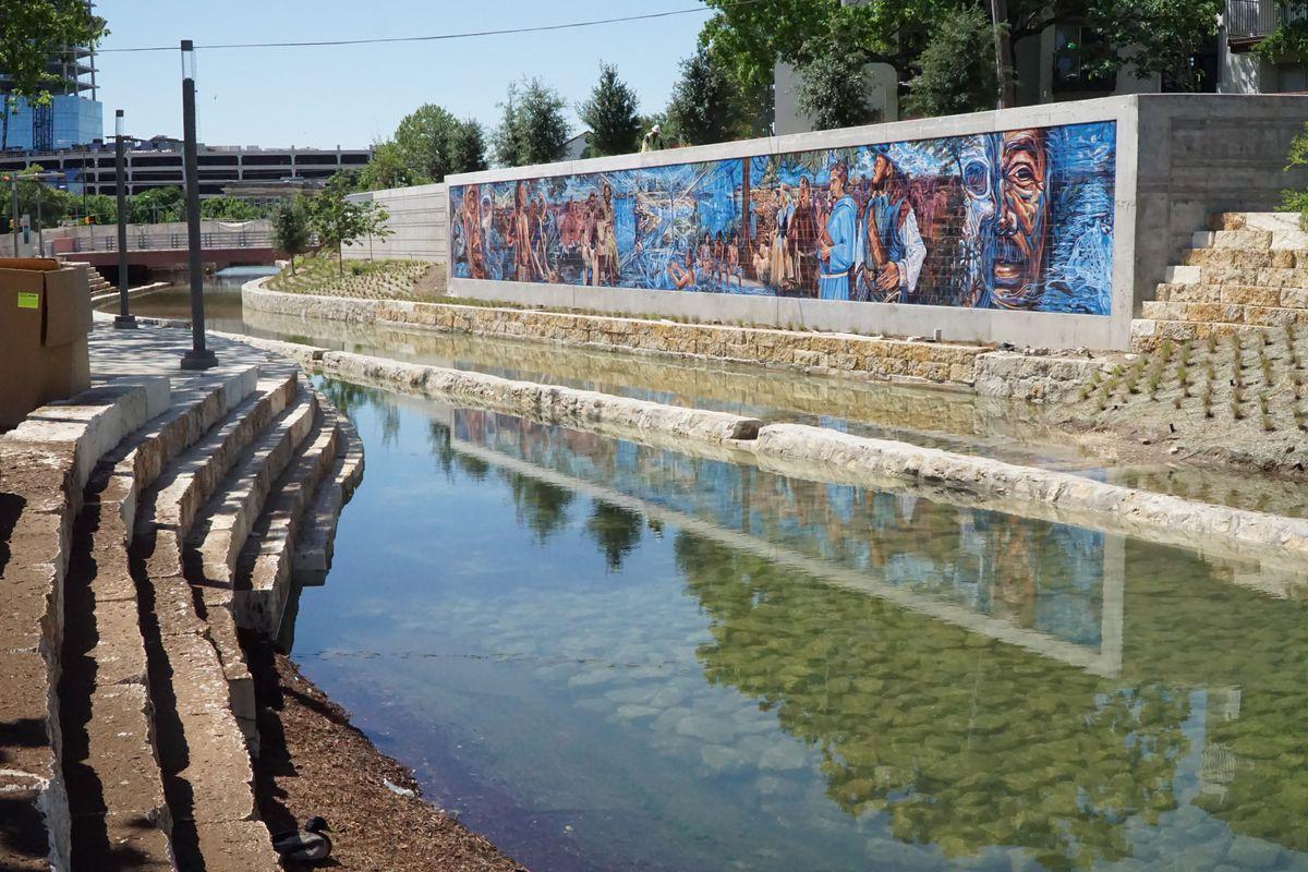 San Antonio S New San Pedro Creek Culture Park Is A
