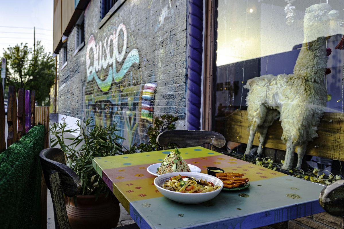 Llama Love Vegan in West Los Angeles, California