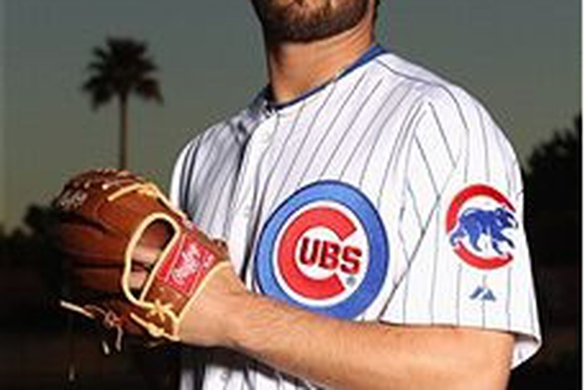 Chicago Cubs pitching prospect Trey McNutt (Photo by Ezra Shaw, Getty Images)