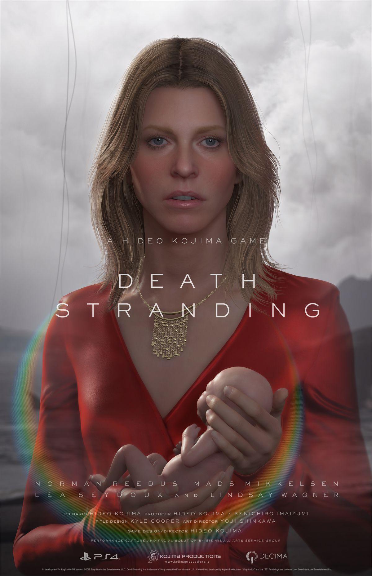 Death Stranding - Lindsay Wagner character poster