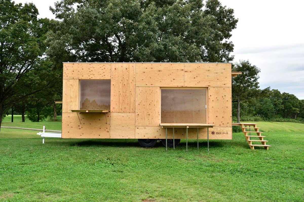 Tiny House By Kengo Kuma Is Perfect For The Minimalist Nomad Curbed