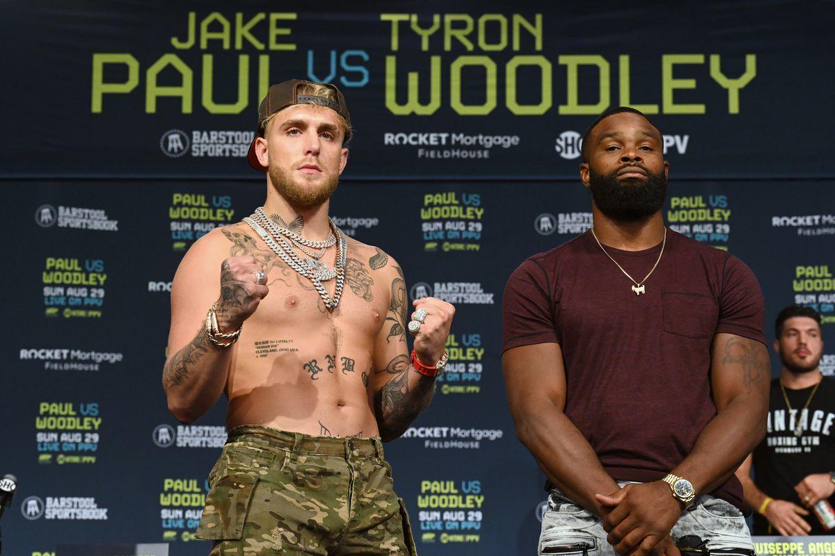 Jake Paul v Tyron Woodley - Press Conference