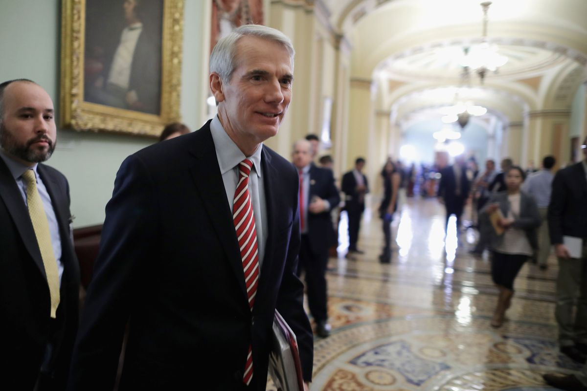 Sen. Rob Portman (R-OH) has been pushing for action on the opioid painkiller and heroin epidemic.