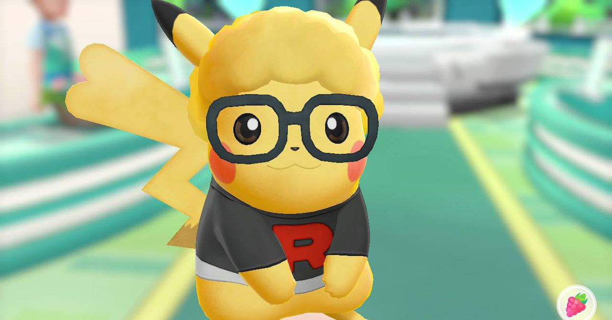 How To Style Your Eevee Or Pikachu In Pokmon Lets Go Polygon