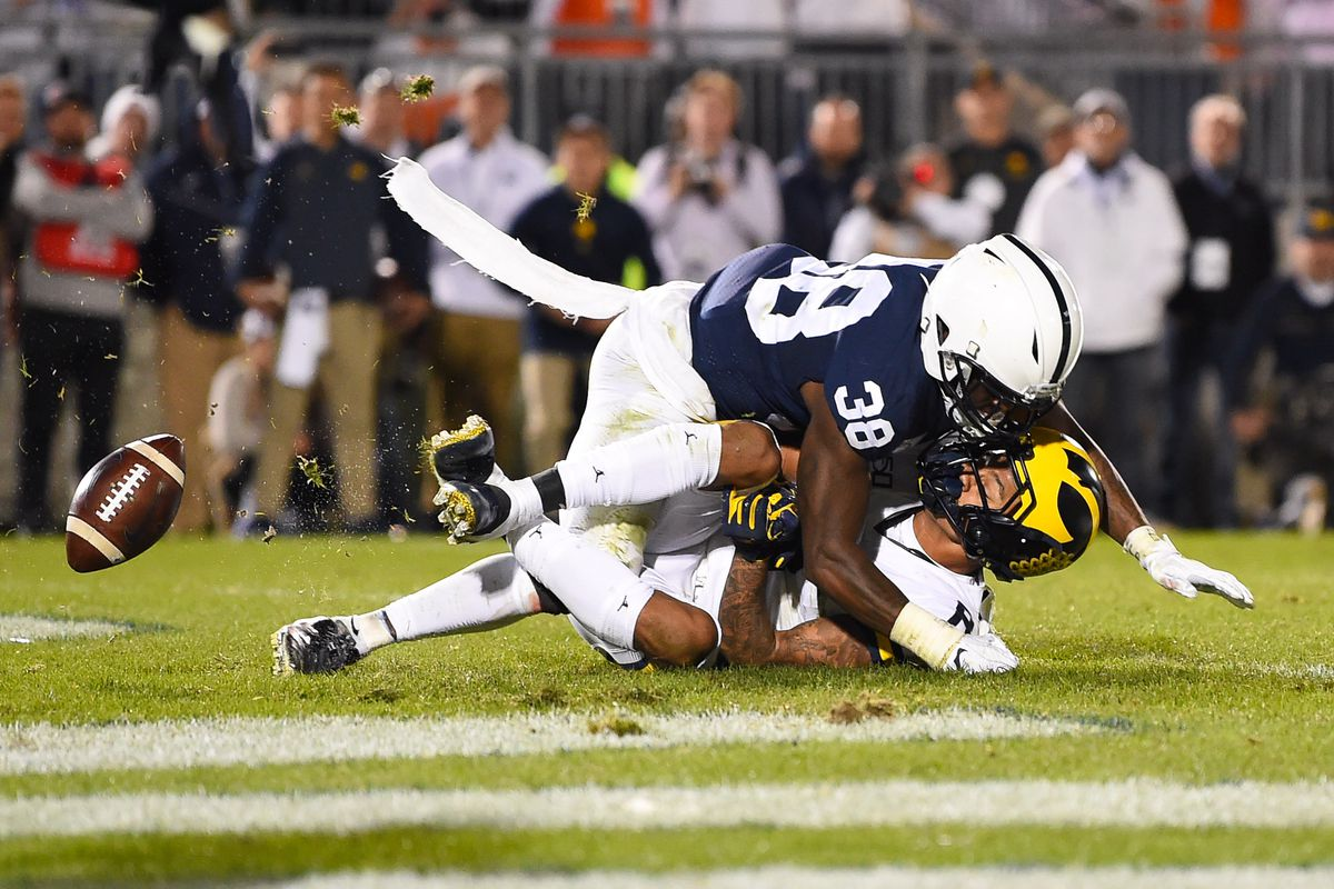 Ronnie Bell reactions after Penn State game