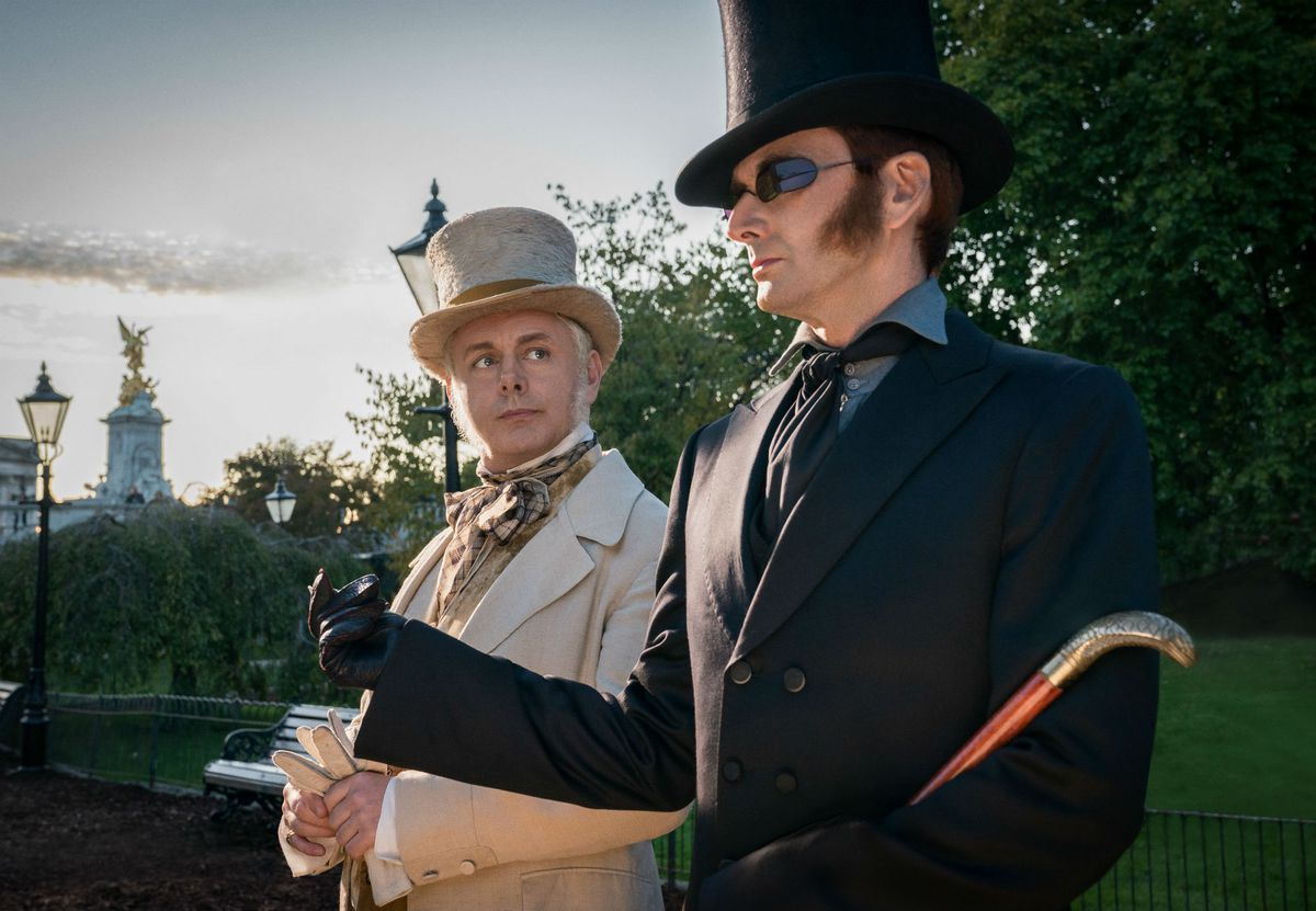 At heart, Amazon's Good Omens is a gay cosmic rom-com - The