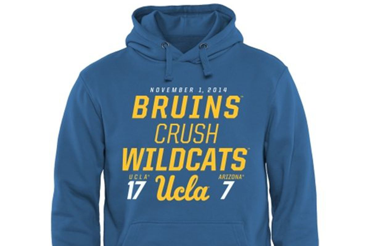 This is now a BFD for Gene Block and Dan Guerrero's UCLA! (and $49.95)