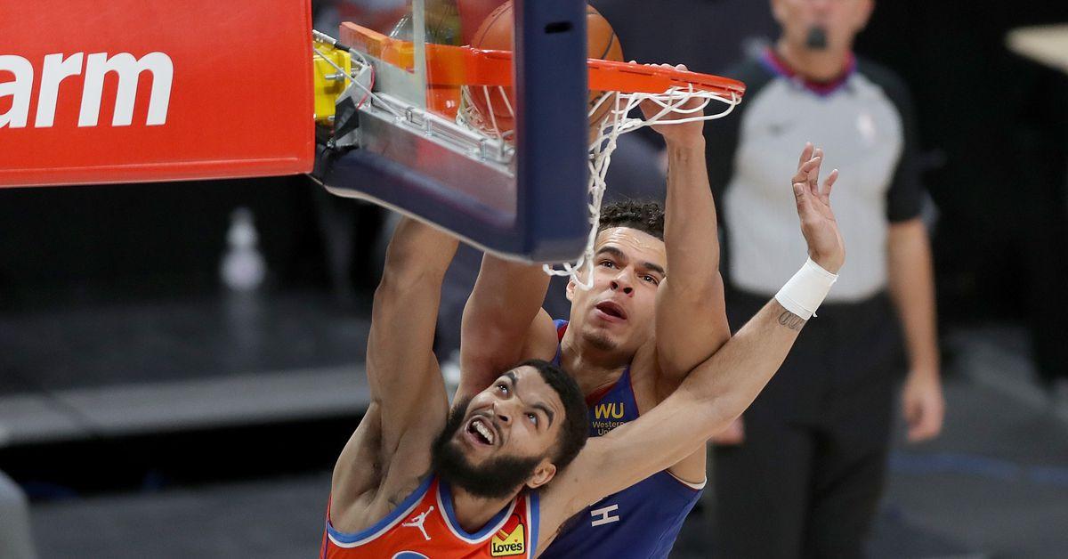 Recap: Denver Nuggets gut out sloppy performance, steal 98-95 win from Oklahoma City Thunder - Denver Stiffs