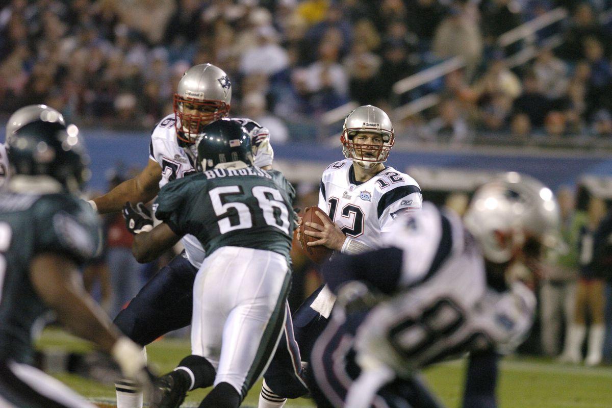 Super Bowl history  Eagles vs. Patriots was Tom Brady s most boring ... 01c94e94f