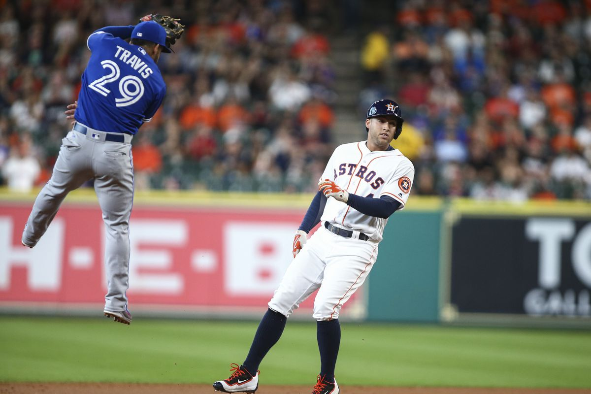 MLB: Toronto Blue Jays at Houston Astros