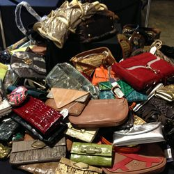 Handbag offerings include Rebecca Minkoff and Gustto.