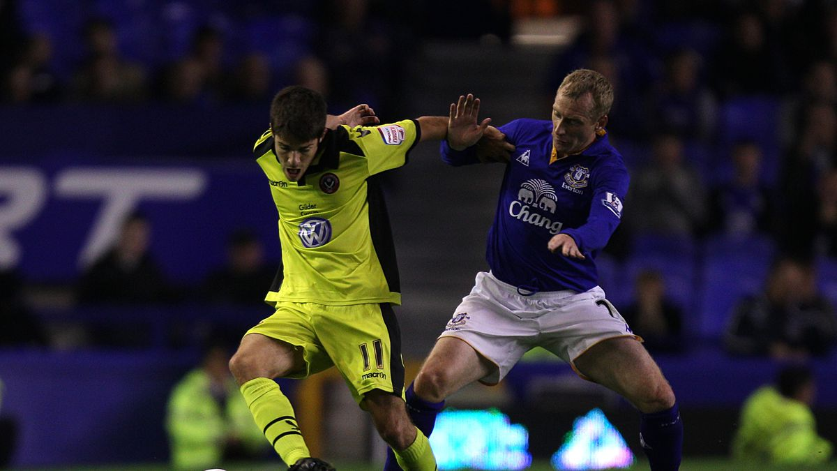 Soccer - Carling Cup - Second Round - Everton v Sheffield United - Goodison Park