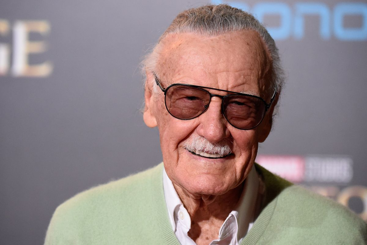 IMG STAN LEE, American Comic Book Writer
