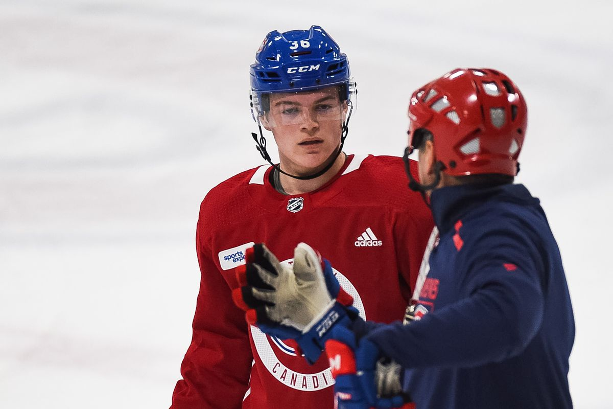 """I haven't done anything yet"": Caufield prepares to work his way to NHL"