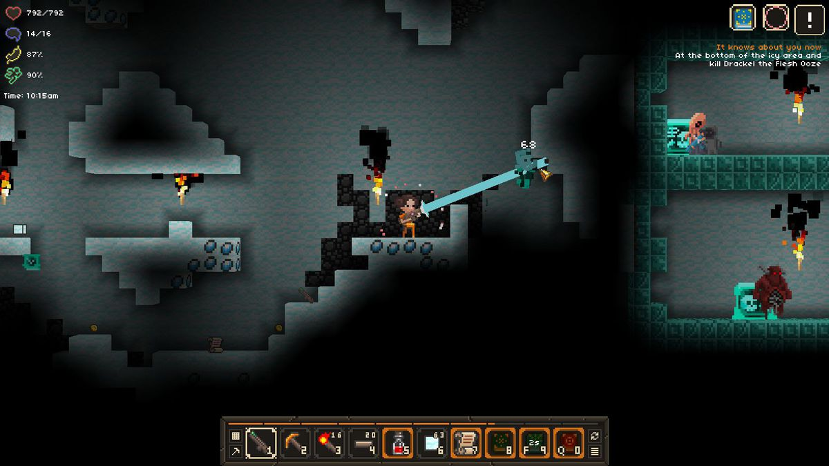 Diablo Creator David Brevik Is Back With A New Game It Lurks Below - Minecraft 2d spielen ohne download
