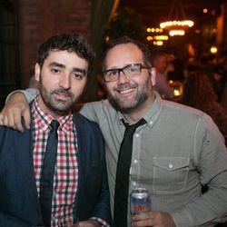 Chef Jesus Nunez (right)
