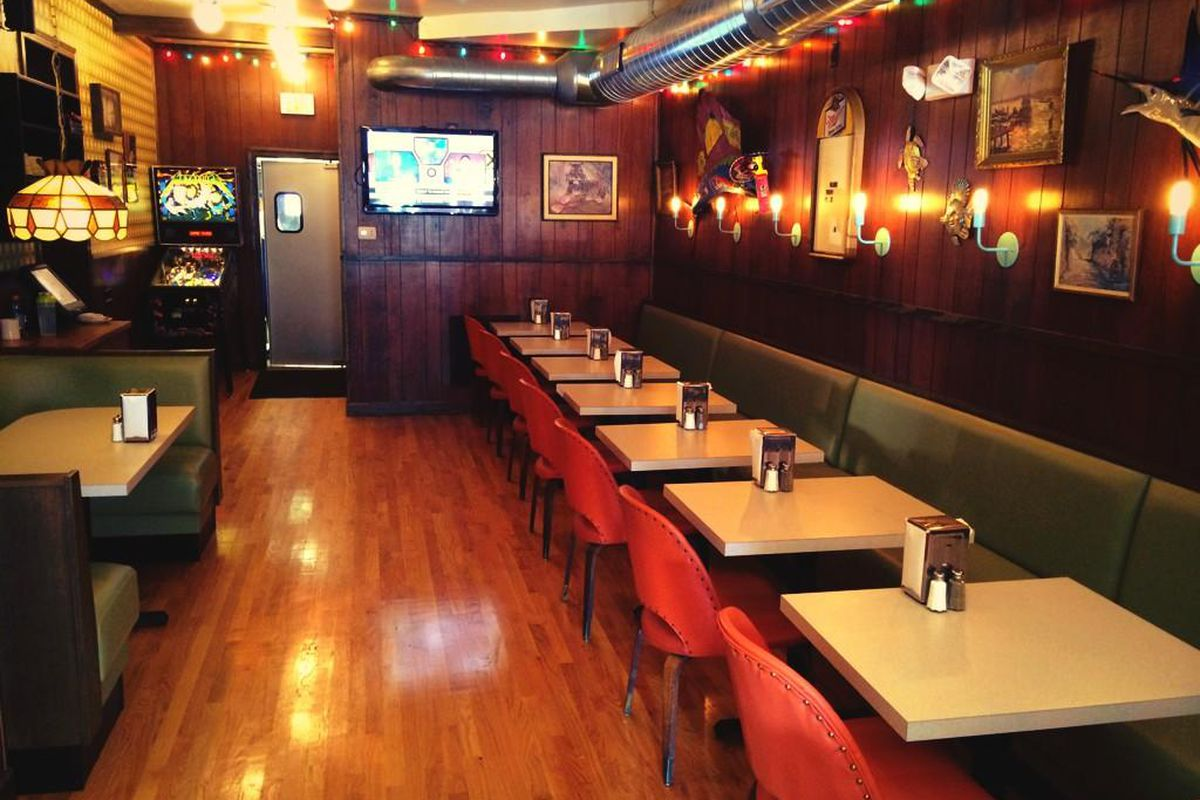 The new dining room at Loco Pez.
