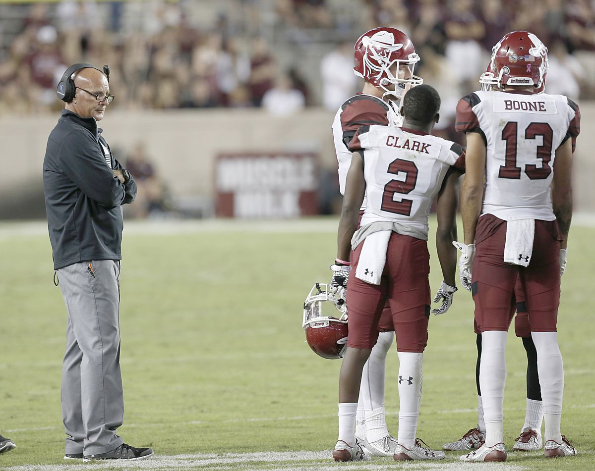 NCAA Football: New Mexico State at Texas A&M