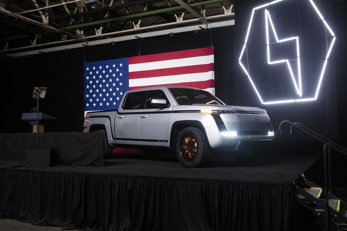 Lordstown Motors Endurance All-Electric Pickup Truck Reveal Event
