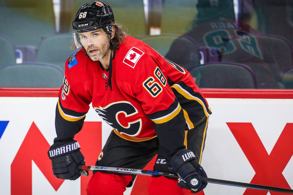 big sale 6588a 045c3 Jaromir Jagr to Flames injured reserve following 'lower-body ...
