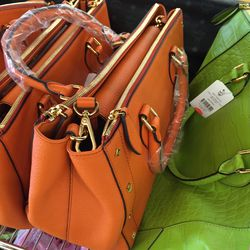 First lady tote, $472 (was $945)