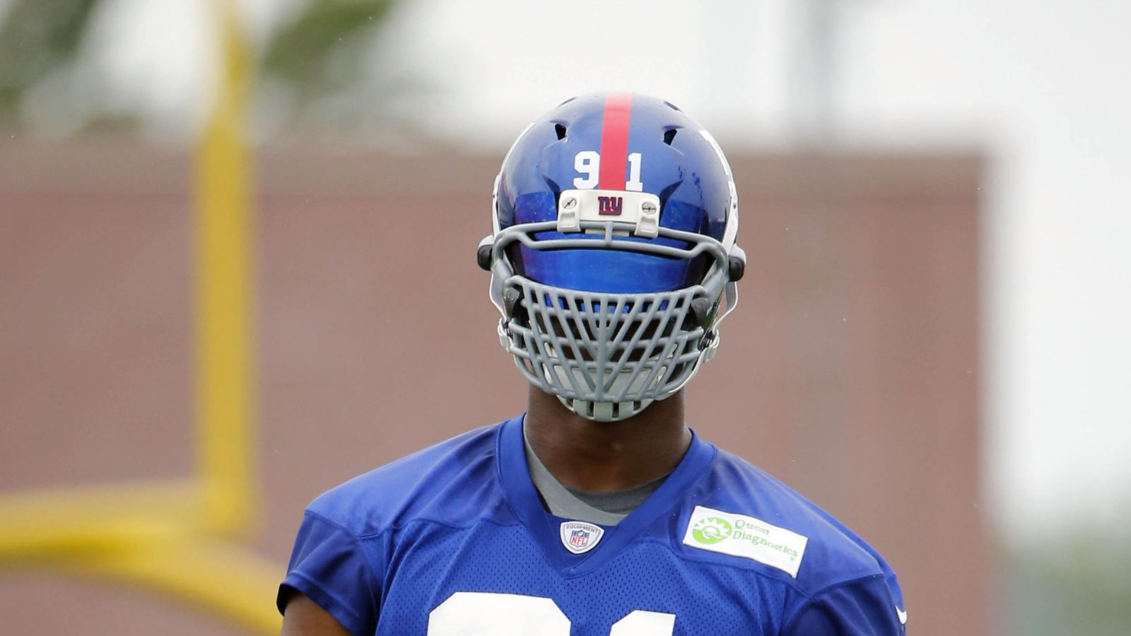 Justin Tuck exempt from NFL's face mask changes - SBNation.com