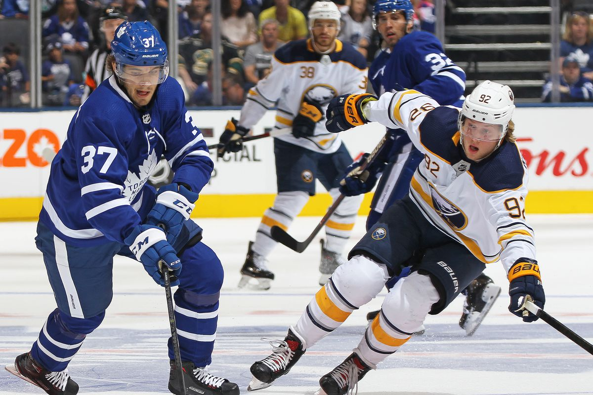 Toronto Maple Leafs   Buffalo Sabres Time  7 30PM ET Location  KeyBank  Center d47e4c38d