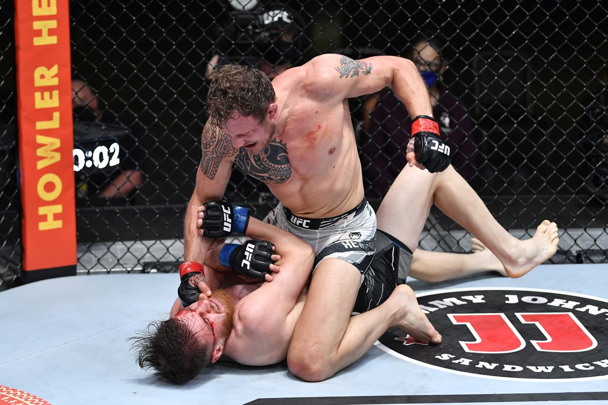 UFC Vegas 27 results: Jack Hermansson punishes Edmen Shahbazyan