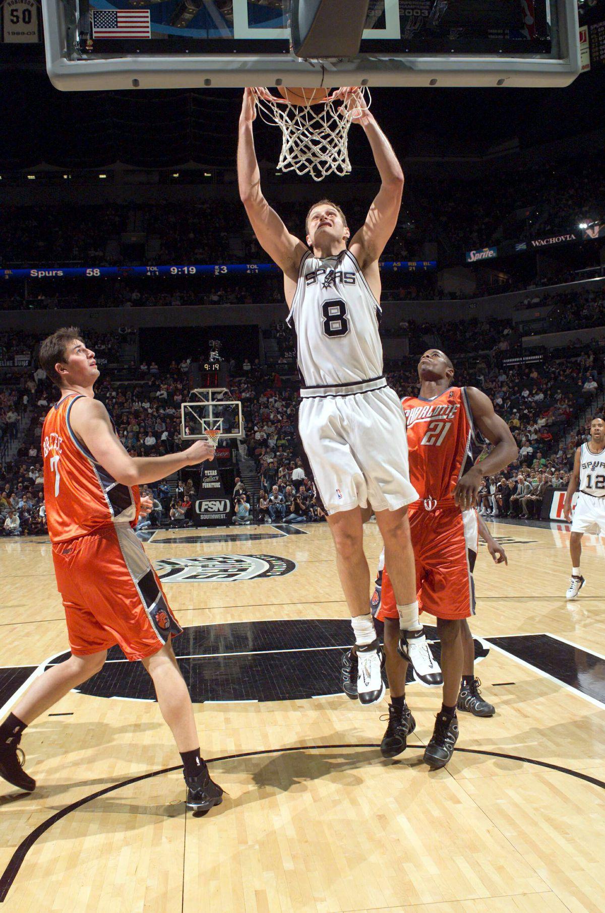 Charlotte Bobcats v San Antonio Spurs