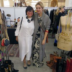 """<a href=""""https://www.etsy.com/shop/YourDailyGoods"""">YourDailyGoods</a>' awesome shop owner with costume designer/<a href=""""http://la.racked.com/archives/2013/07/12/six_cool_joshua_tree_shops_for_a_stylish_getaway.php"""">The End</a> boutique owner Kime Buzzell"""