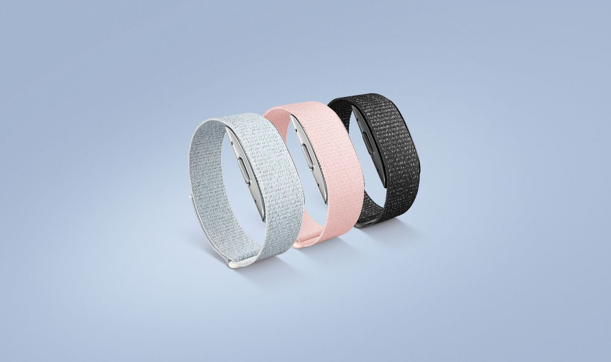 The three color options for the Halo Band