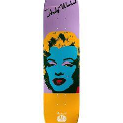 Andy Warhol x Rob Dyrdek Skateboard, $265