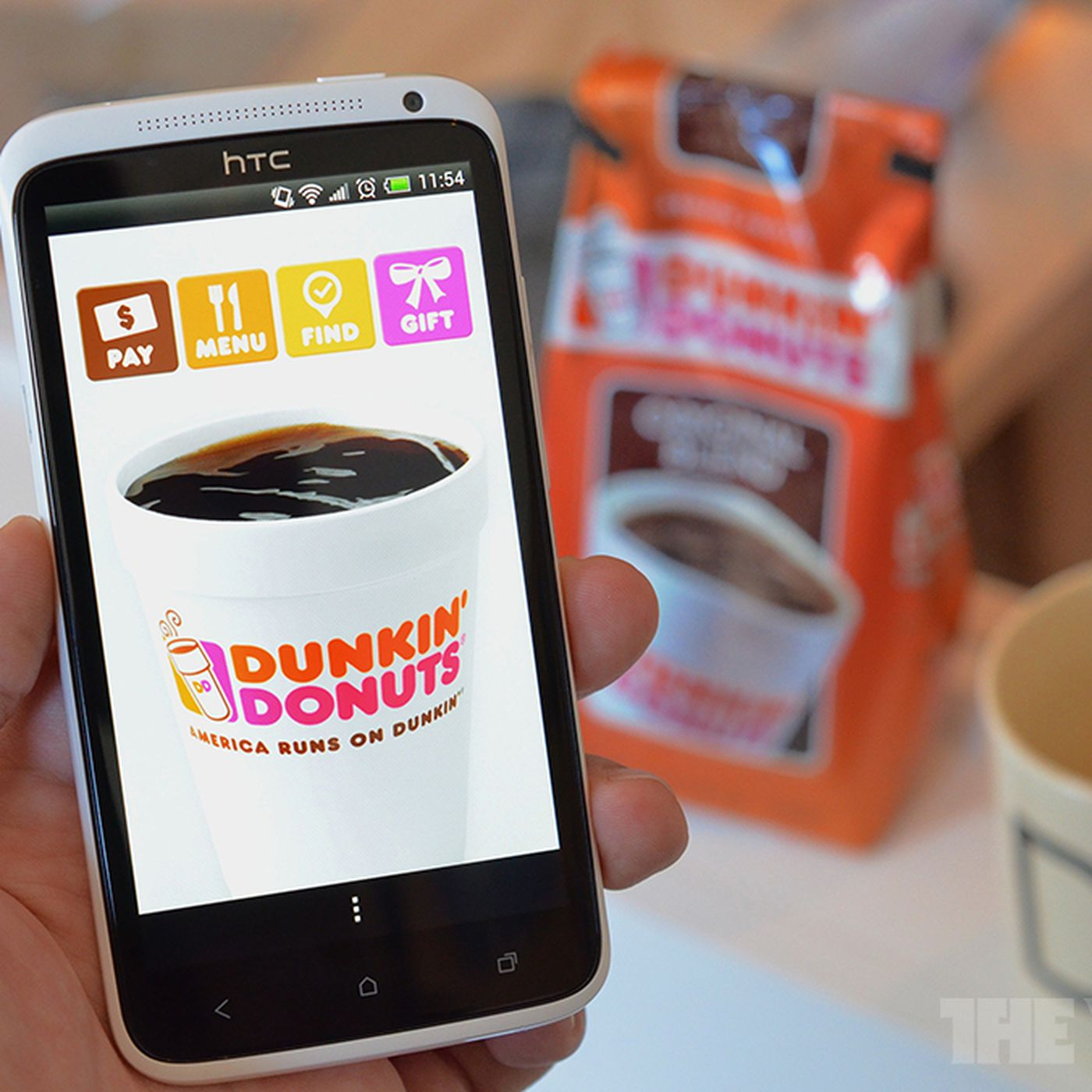 Dunkin Donuts Lets You Gift A Cup Of Coffee With Its New Mobile Payment App The Verge