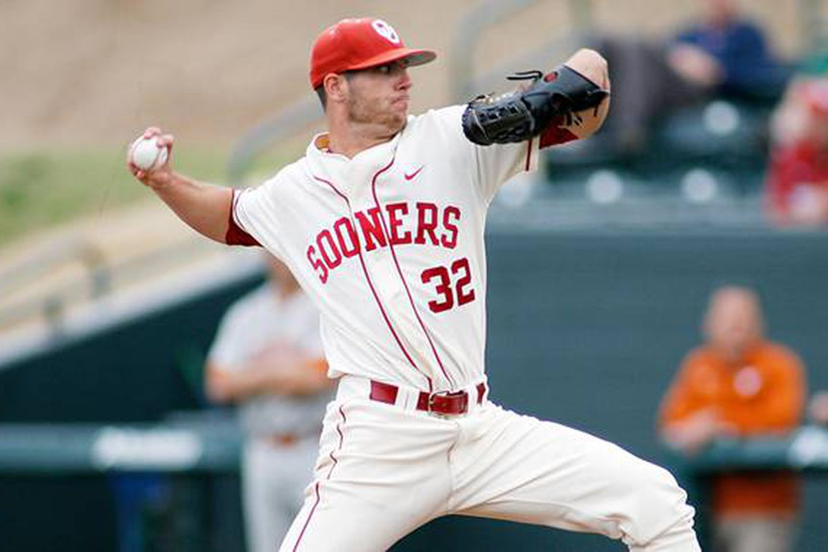 """Damien Magnifico picked up the win on Sunday after coming in to relieve Dillon Overton. Photo via<a href=""""http://www.foxsportssouthwest.com/common/medialib/269/633896.jpg"""">www.foxsportssouthwest.com</a>"""