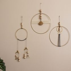<b>Shades of Grey</b> Wall Hangings and Mobiles, $47-76