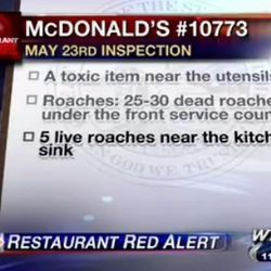 """<a href=""""http://eater.com/archives/2012/06/07/watch-a-news-report-of-a-super-gross-florida-mcdonalds.php"""">Watch a Report of a Super Gross Florida McDonald's</a>"""