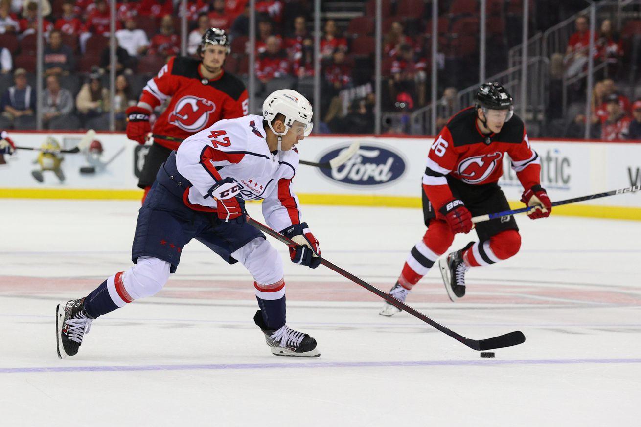 NHL: Preseason-Washington Capitals at New Jersey Devils