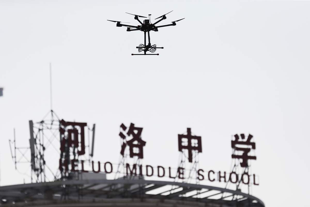 Drones Used To Catch Cheaters In China