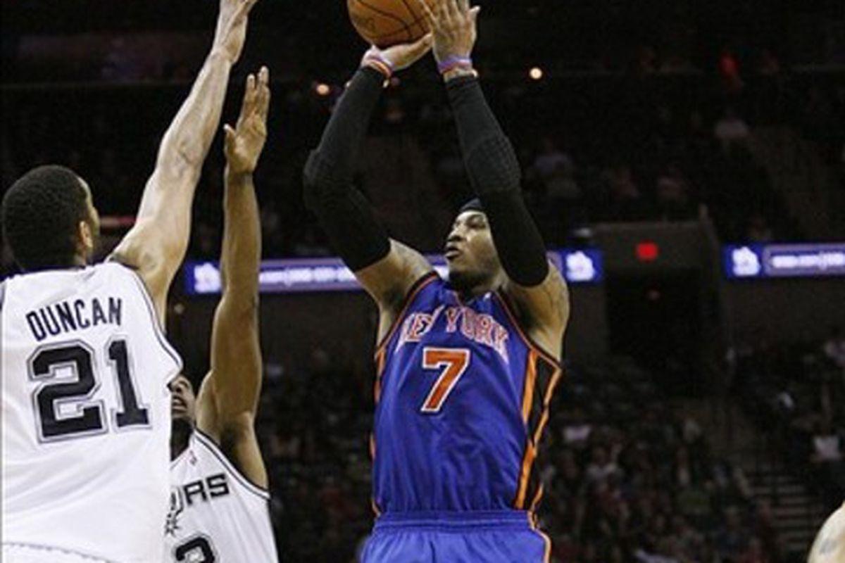 Spurs Vs Knicks Detail: Pre-Game: Knicks Vs. Spurs- 1/3/13