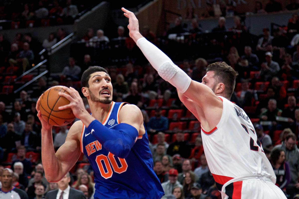 report  enes kanter will opt in to the final year of his