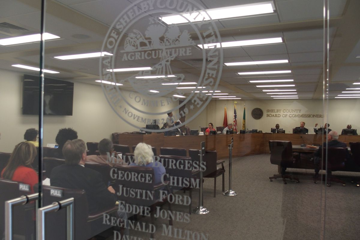 The Shelby County Board of Commissioners has begun reviewing the 2016-17 budget for Shelby County Schools.