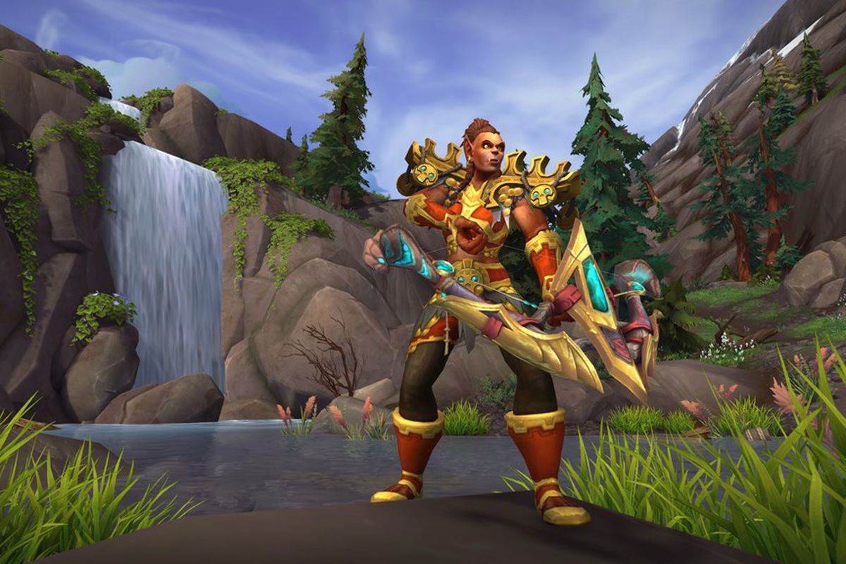 A World of Warcraft player character